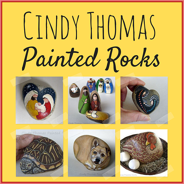 Cindy Thomas Painted Rocks